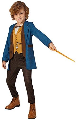 Rubie's 3630555 – Newt Scamander Deluxe Child Larger Size, Verkleiden und Kostüme