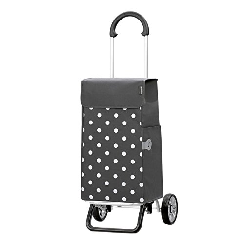 Lis-tasche (Original Andersen Scala Shopper Plus mit Tasche Lis grau Punkte)