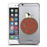 Head Case Designs Officiel Peanuts Snoopy Peace Love Music Woodstock 50th Coque Dure pour l'arrière Compatible avec iPhone 6 Plus/iPhone 6s Plus