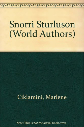 Snorri Sturluson (World Authors)