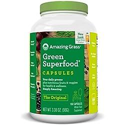 Amazing Grass Green Superfood Nahrungsergänzungsmittel 150 Kapseln
