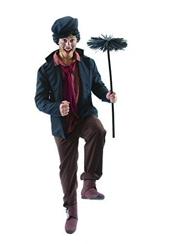 Kostümen Herren Viktorianischen (Herren Viktorianischen Schornsteinfeger Karneval Verkleidung Kostüm Extra)