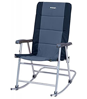 Vango Hampton Padded Luxury Rocker Rocking Chair Camping Fishing Garden Smoke by Vango