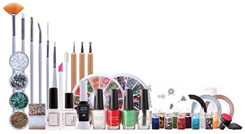 Rio Ultimate Nail Art - Kit profesional para uñas