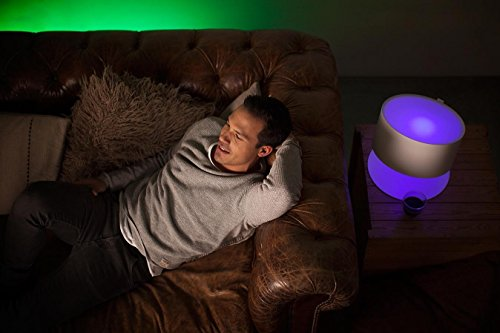 Philips Hue LED Lampe E27 Starter Set inklusive Bridge, 3. Generation, 3-er Set, dimmbar, 16 Mio Farben, app-gesteuert - 12