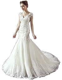 Amazon.es  aplique vestido novia - Ceremonia  Ropa 6861897e77df