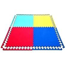 16 x Suelo Para Ninos Y Infantiles EVA Puzzle Colchonetas 60cm x 60cm x12mm