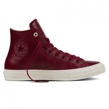 Converse All Star II Leather Scarpa red block