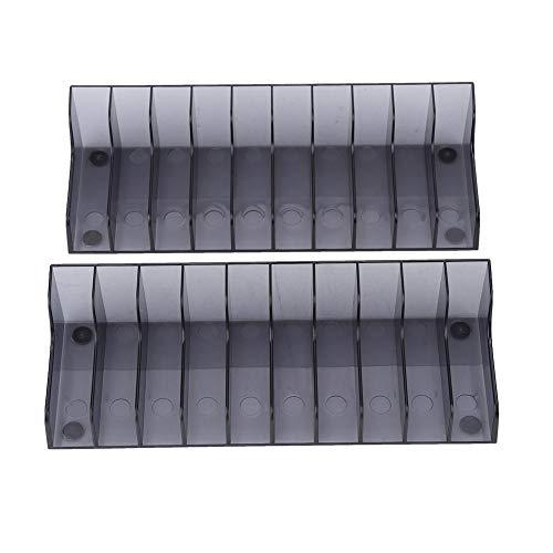 Speicher-rack-ständer (Lazmin 2 PCS Game Card Speicher Ständer, CD DVD Speicher Rack Halter Mount Disk Ständer Halter PS4 / Slim/PRO)