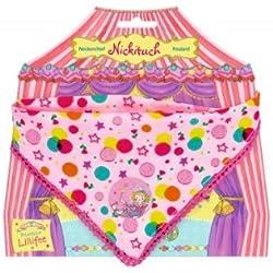 Spiegelburg 11044 Pañuelo de Cuello En Rosa con diseño de Lunares y Estrellas Multicolor Princesa Prinzessin Lillifee