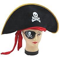 Inception Pro Infinite Cappello Pirata - Velluto - Adulti   Bambini -  Carnevale - Halloween 4dc06340fc57