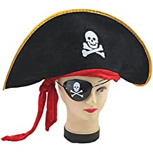 CAPPELLO DA PIRATA ADATTO SIA AD ADULTI