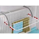 Gagitech Trockengestell für Radiator / Heizkörper, 5 verstellbare Arme, bis max. 70°C
