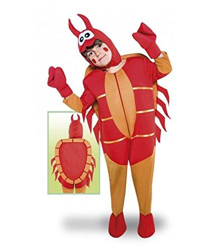 Imagen de disfraz de cangrejo para niños