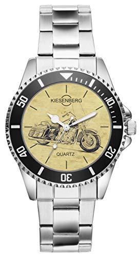 1ae9bbd400dc Regalo para Harley Davidson Road King Motocicleta Fan Conductor Kiesenberg  Reloj 20412