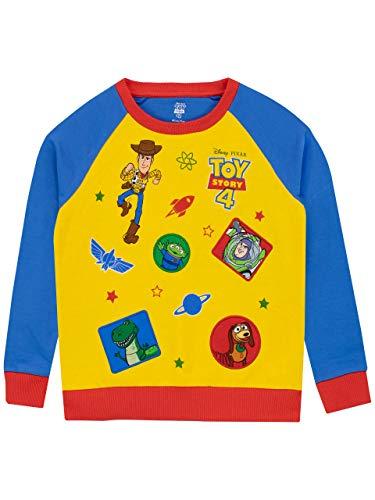Disney Jungen Toy Story Sweatshirt Mehrfarbig 116 (Woody Toy Shirt Story)