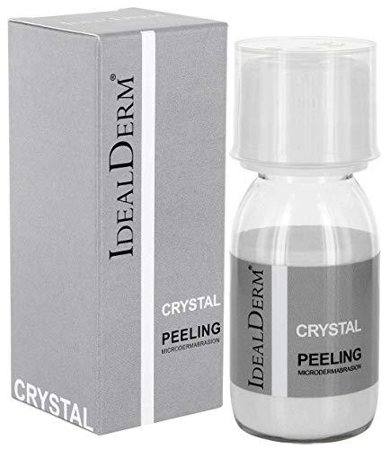 Mikrodermabrasion Kristalle Puder Aluminiuoxidkristalle IDEALDERM für Gesicht Microdermabrasion...
