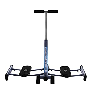 Cococita Bein Excerciser Oberschenkel Glider Maschine faltbar Trainingsgerät mit Verstellbarer Griff Bar, Master Magic Übung Gym Home Equipment