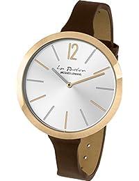 Jacques Lemans Damen-Armbanduhr La Passion Analog Quarz Leder LP-115D