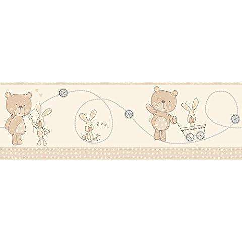Fun4walls Bear and Boo - Bordo decorativo autoadesivo