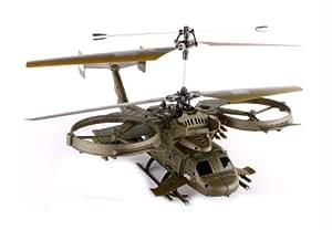 Hélicoptère militaire radiocommandé
