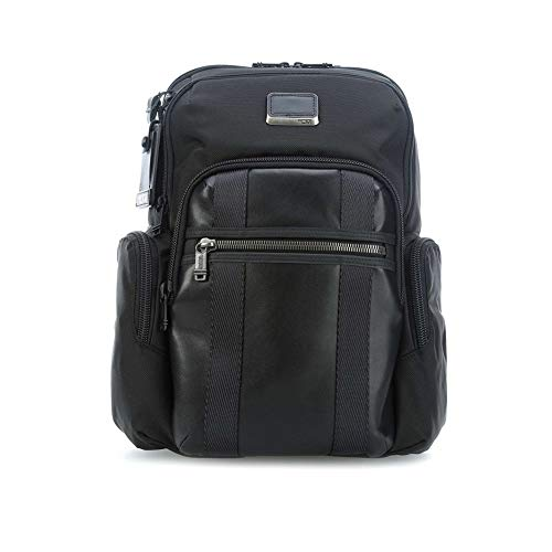 Tumi Alpha Bravo - Nellis Laptop Backpack 15' Mochila Tipo Casual, 40 cm, 22.28 Liters, Negro (Black)