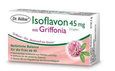 ISOFLAVON DRAGEES DR.BOEHM 45MG GRIFFONIA (60 ST)
