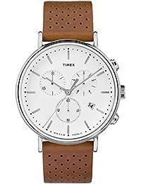 Timex Reloj Cronógrafo para Hombre de Cuarzo con Correa en Cuero TW2R26700 57828e51a9a0