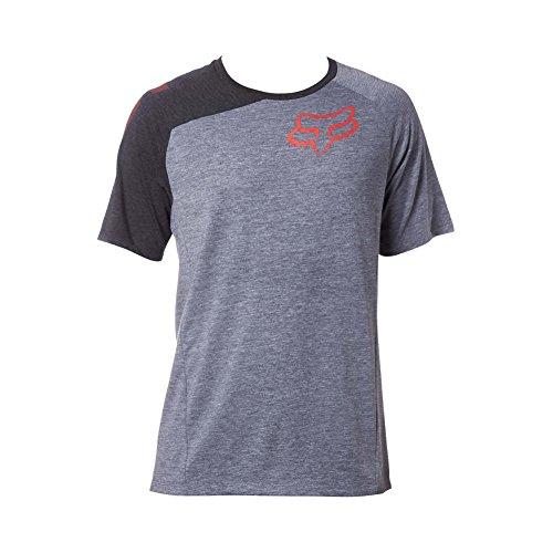 fox-herren-distinguish-ss-tech-tee-t-shirt-heather-graphite-m