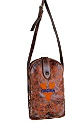 NCAA Virginia Cavaliers Women's Cross Body Purse, Brass, One Size