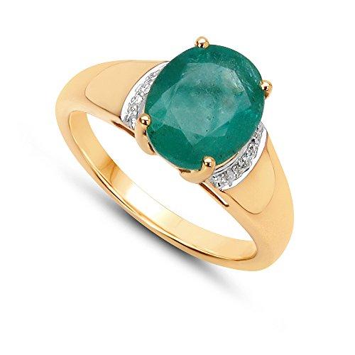 jaipuriinstyle-by-tricolore-anello-da-donna-14-carati-585-oro-giallo-vera-pietre-preziose-smeraldo-1