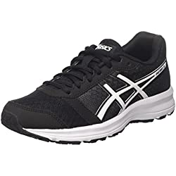 Asics Patriot 8, Scarpe Sportive Outdoor Donna, Nero (Black/White/White), 39.5 EU