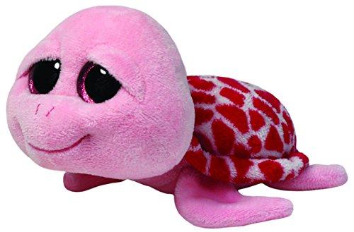 TY 7136110 - Shellby - Schildkröte, 15 cm, pink