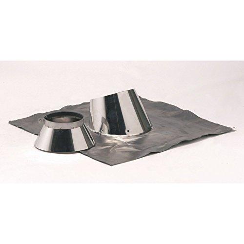 Solin DP 5° A 30° & collet OPSINOX Inox diamètre : 153/200 Réf 014538
