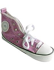 WEDO Trousse scolaire Motif Chaussure de sport sneaker scintillant Rouge