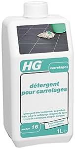 HG Détergent pour Carrelages N° 16 1000 ml - Lot de 2