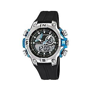 Calypso Jungen analog-digital Quarz Uhr mit Kautschuk Armband K5586/2