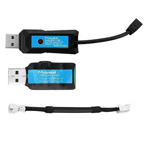 LaDicha Mirarobot Mrk C1000 1S 5.5V 1000Ma USB Battery Ladegerät Discharger Für E010 E010S Blade Inductrix Mrk Rack