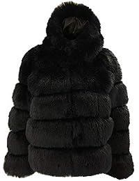 5599f57f1 Vectry Rebajas Mujer Abrigo De Peluche Sintético Sudadera con Capucha  Sudadera De Color Liso Chaqueta con