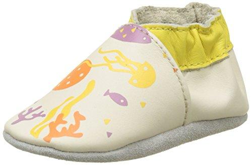 Robeez Underworld, Chaussures de Naissance Bébé Fille Beige (Beige)