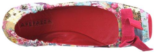 Apepazza CINDY MULTI PATCH 502557 51627, Ballerines femme Rouge-TR-C3-121
