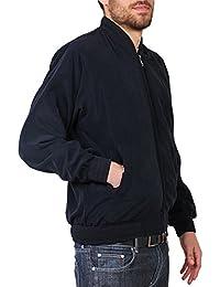 KRISP® Homme Classique Bomber Gilet Casual Manteau Militaire Blouson