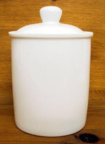 Blanc Boîte en porcelaine fine Blanc Pot de rangement avec couvercle gratuit au Royaume-Uni Livraison