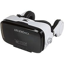 Juguetrónica - VR Phone Glasses 3D - Gafas de realidad virtual con altavoces - Compatible con iOS y Android