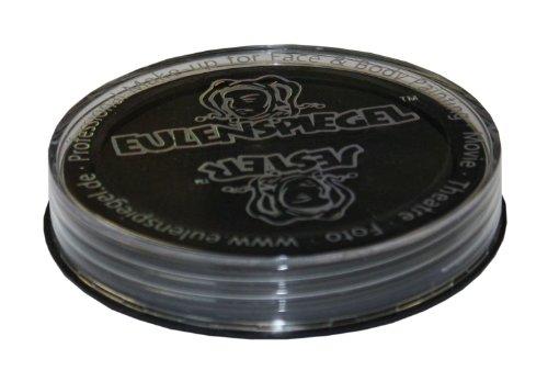 Eulenspiegel Profi Aqua Schminkfarbe, schwarz