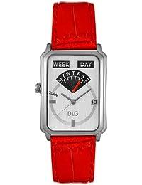 D&G Dolce&Gabanna Damen-Armbanduhr DW0123 Sea Quest Rot