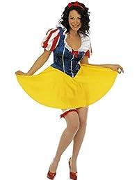 Kostüm Karnevalskostüm Damen Prinzessin Märchen Schneewittchen * 19450