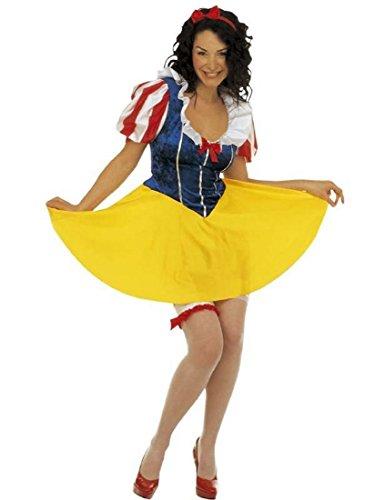 WIDMANN Costume di Carnevale Donna Principessa Favole Biancaneve *19450-S