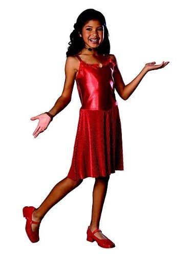 Deluxe Gabriella Child Costume Small (Gabriella Aus High School Musical Kostüm)