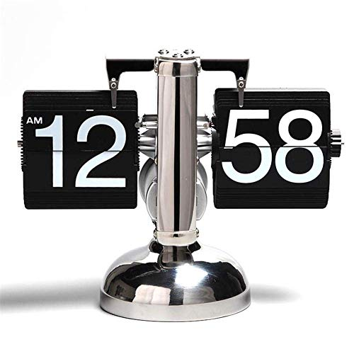 Desk & Table Clocks Sensible Old Type Antique Style Clock Cheap Desk Clock Retro Iron Aircraft Model Gift Bedroom Table Clock Living Room Decoration Distress Ideal Gift For All Occasions